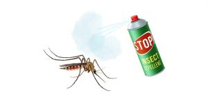 Πράσινο σπρέι για την καταπολέμηση των κουνουπιών